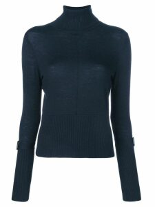 Steffen Schraut turtle neck jumper - Blue