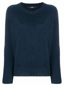 Steffen Schraut wide sleeved jumper - Blue
