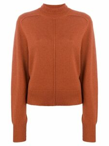 Chloé turtle neck sweater - Brown