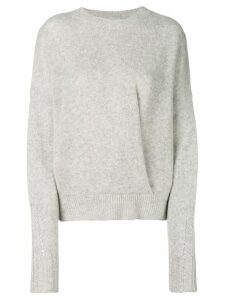 Isabel Marant crew neck sweater - Grey
