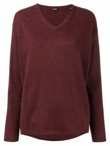 Aspesi V-neck sweater - Red