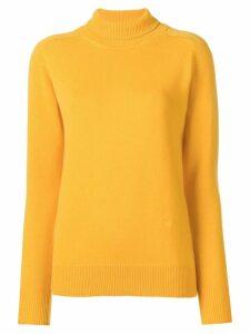 Victoria Beckham poloneck jumper - Yellow