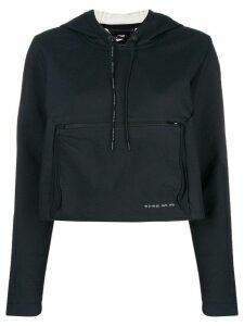 Nike cropped hoodie - Black