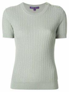 Ralph Lauren shortsleeved knitted T-shirt - Green