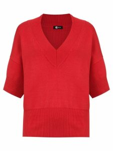 Gloria Coelho oversized top - Red