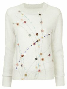 Onefifteen embellished sweater - Grey