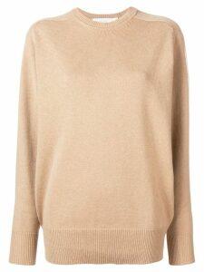 Victoria Beckham oversized cashmere sweater - Neutrals