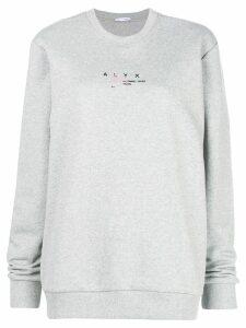 1017 ALYX 9SM logo sweatshirt - Grey