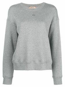 Nº21 Glam jersey sweater - Grey