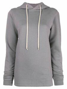 Rick Owens DRKSHDW hooded sweatshirt - Grey
