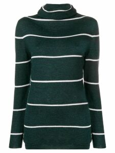 Les Copains striped sweater - Black