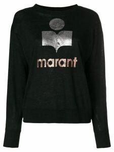 Isabel Marant Étoile Klowia long sleeve top - Black