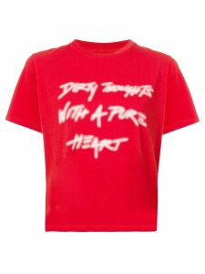 Amiri Dirty Thoughts T-shirt - Red