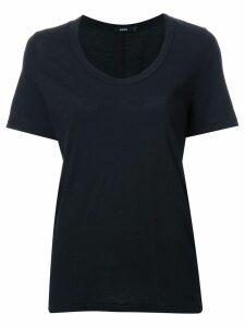 Bassike scoop neck T-shirt - Black