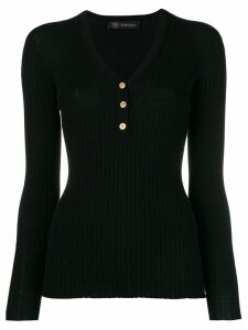 Versace fitted sweater - Black