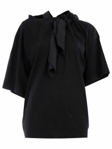 Y/Project asymmetric deconstructed T-shirt - Black