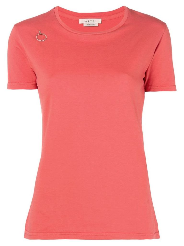 1017 ALYX 9SM ring detail T-shirt - Red