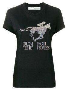 Off-White 'Run for the Horses' T-shirt - Black