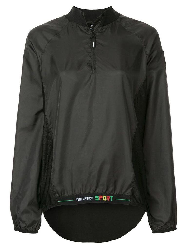 The Upside zipped neck jacket - Black