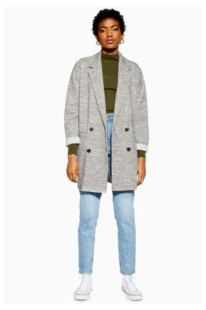 Womens Slouch Coat - Grey, Grey