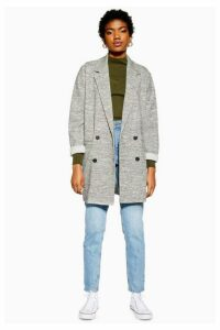 Womens Slouch Coat - Grey, Grey