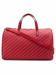 Karl Lagerfeld K/Stripe Logo Weekender - Red