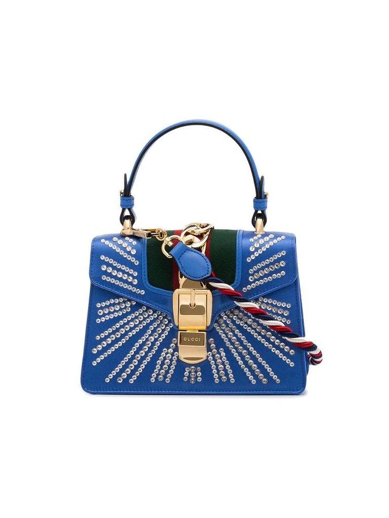 Gucci Blue Dia Satchel Mini Shoulder bag