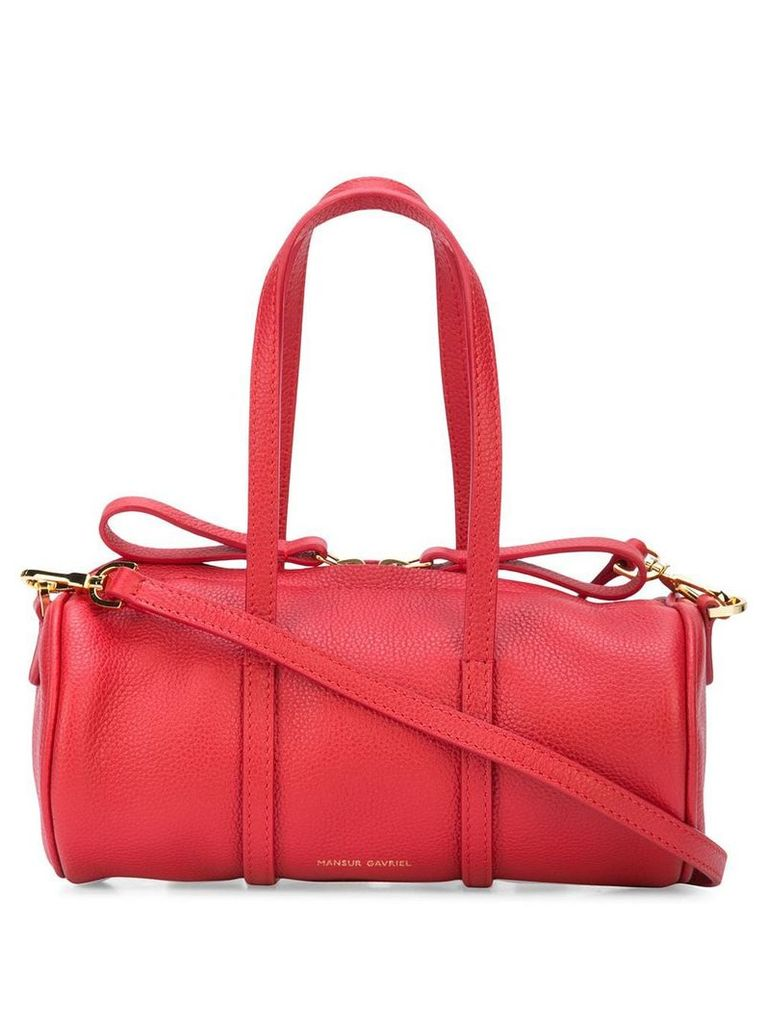 Mansur Gavriel Mini mini duffle bag - Red