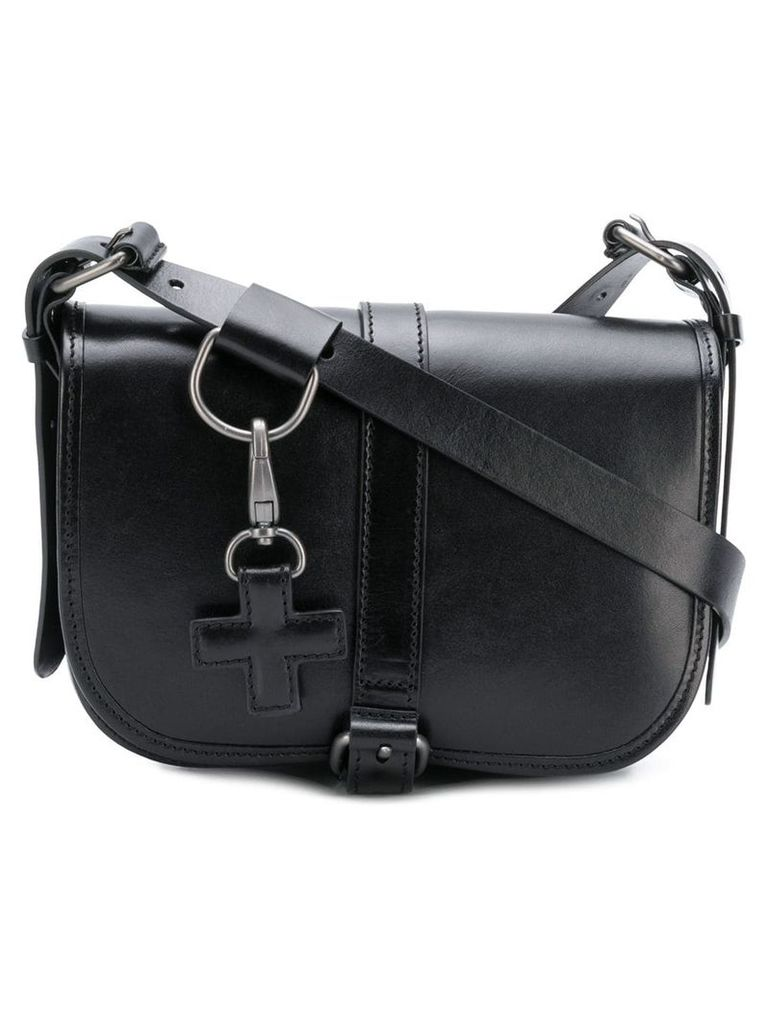 A.F.Vandevorst buckled shoulder bag - Black