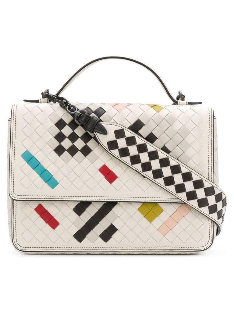 Bottega Veneta Alumna shoulder bag - White