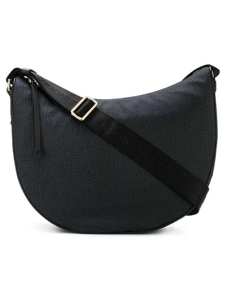 Borbonese classic shoulder bag - Grey