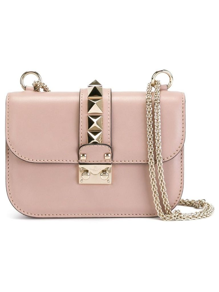 Valentino Valentino Garavani Glam Lock shoulder bag - Neutrals