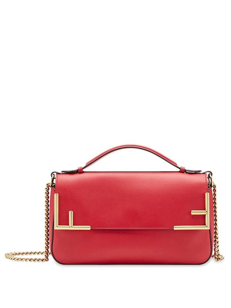 Fendi double F shoulder bag - Red