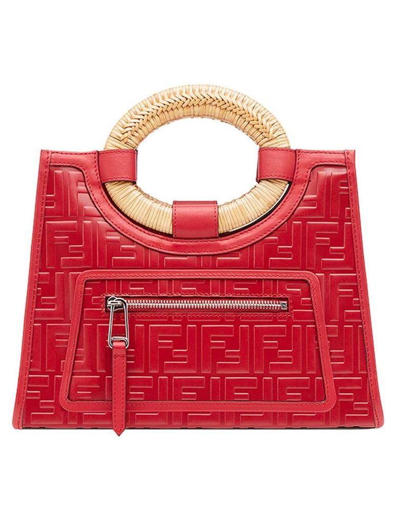 Fendi Runaway shopper bag - Red