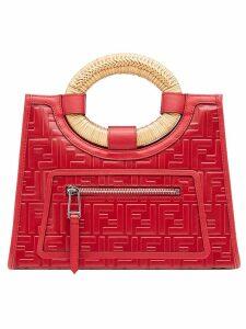 Fendi Runaway shopper bag - Red
