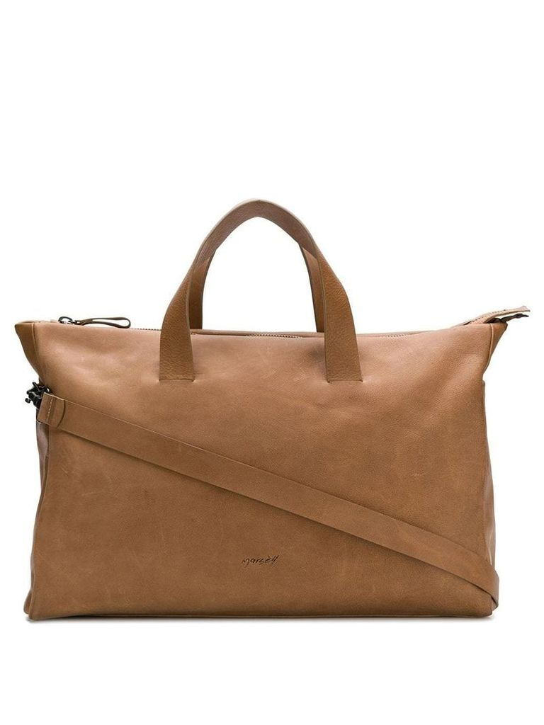 Marsèll rectangular body tote - Brown
