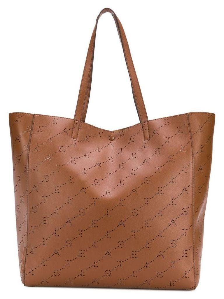 Stella McCartney Monogram tote bag - Brown