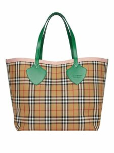 Burberry The Giant Reversible Tote in Vintage Check - Neutrals
