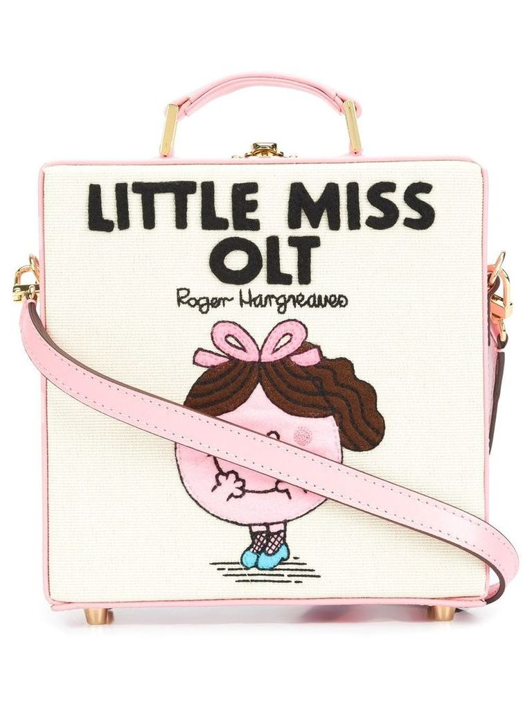Olympia Le-Tan 'Little Miss OLT' tote bag - Pink