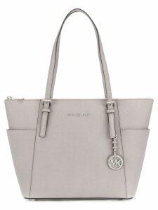 Michael Michael Kors top zip tote bag - Grey