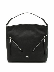 Michael Michael Kors front zipped tote bag - Black