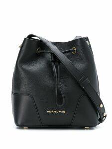 Michael Michael Kors Cary small bucket bag - Black