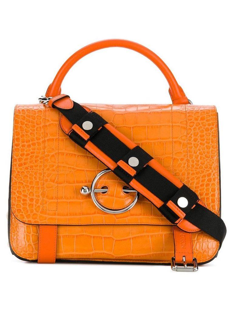 JW Anderson disc-hardware tote bag - Orange