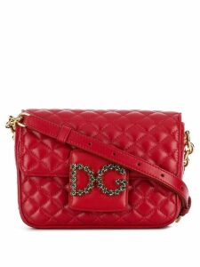 Dolce & Gabbana logo crossbody bag - Red