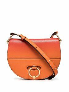 JW Anderson orange Latch goatskin cross-body bag - Yellow