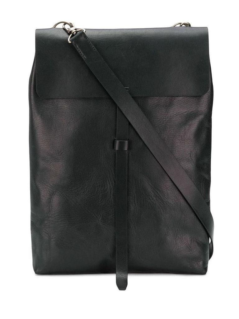 Ann Demeulemeester Blanche long satchel bag - Black