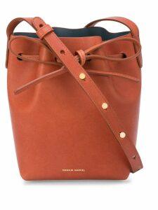 Mansur Gavriel Mini Mini Bucket Bag - Brown