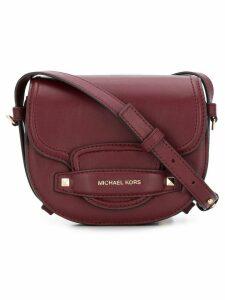 Michael Michael Kors Carry small saddle bag - Red