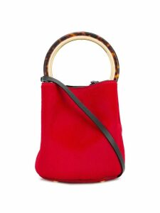 Marni Pannier bucket bag - Red