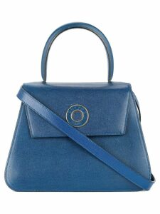 Céline Pre-Owned logos 2way hand bag - Blue